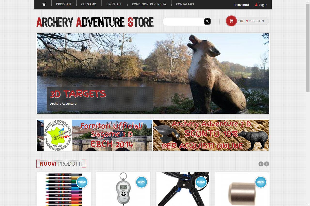 Archery Adventure Store